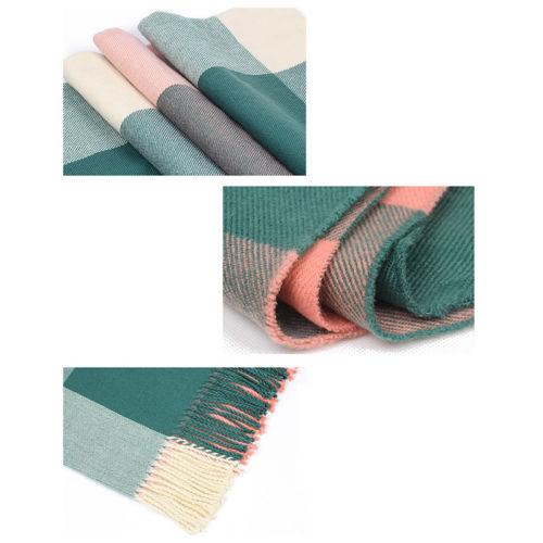 Pastel Blanket Scarf