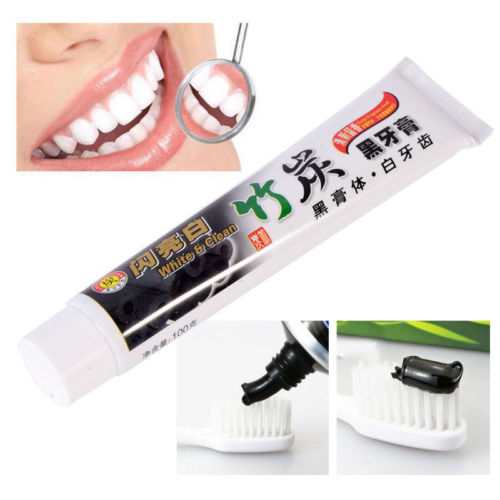 Bambood Charcoal whitening mint toothpaste